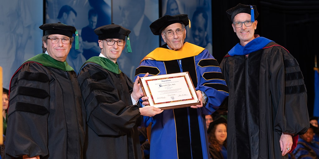 Presentation of Honorary Degree Recipient during 2019 Mayo Clinic College of Medicine and Science commencement ceremony
