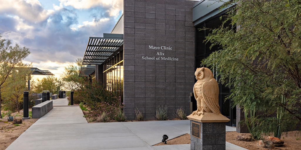 Mayo Clinic Alix School of Medicine building