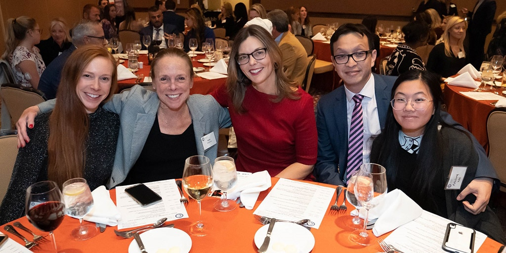 Dr. Wilansky (second from right) with friends and family at the Arizona Women In Cardiology Chapter Event at Omni Scottsdale Resort & Spa at Montelucia Resort in Scottsdale, AZ.