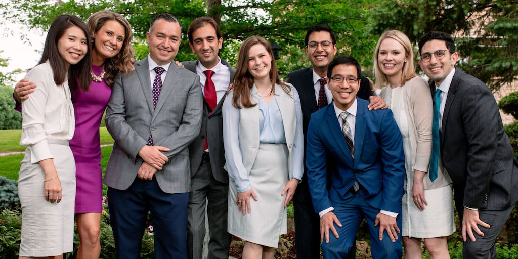 Mayo Clinic gastroenterology fellows group photo 2018