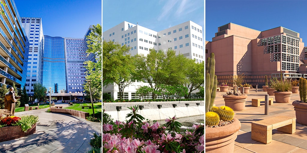 Mayo Clinic campus facilities photos