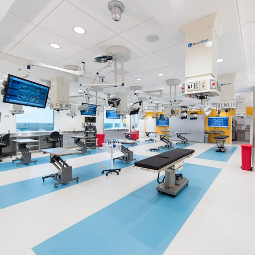 Procedural Skills Lab at Mayo Clinic's J. Wayne and Delores Barr Weaver Simulation Center in Jacksonville, Florida.