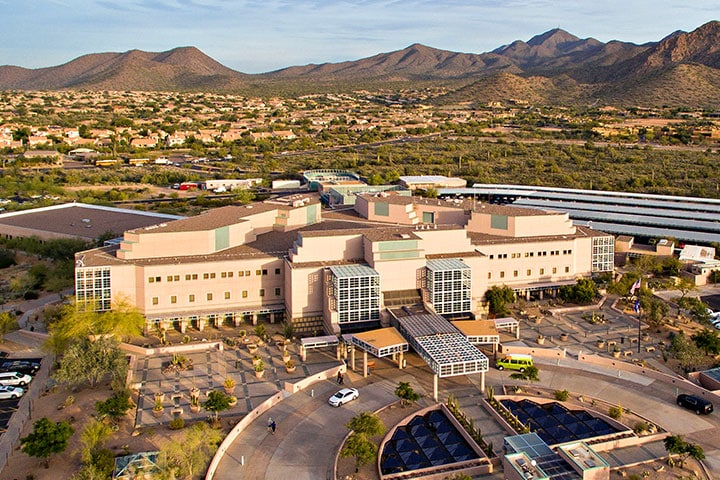Best transportation option from skyharbor to mayo clinic scottsdale