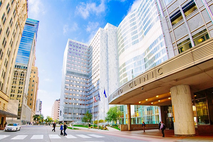 Check out the Mayo Clinic College of Medicine and Science campus in Rochester, Minnesota