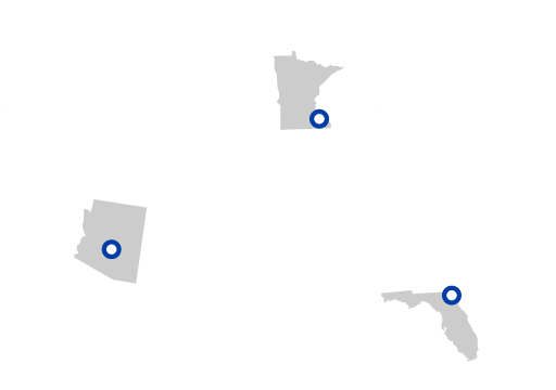 Mayo Clinic has destination medical centers in Minnesota, Arizona, and Florida