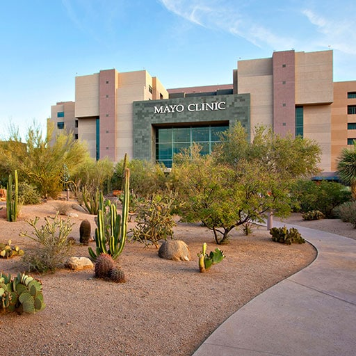 Mayo Clinic campus in Phoenix, Arizona.