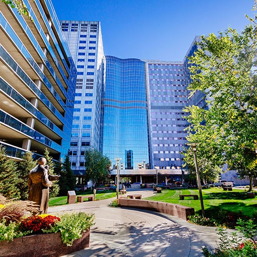 Mayo Clinic campus in Rochester, Minnesota.